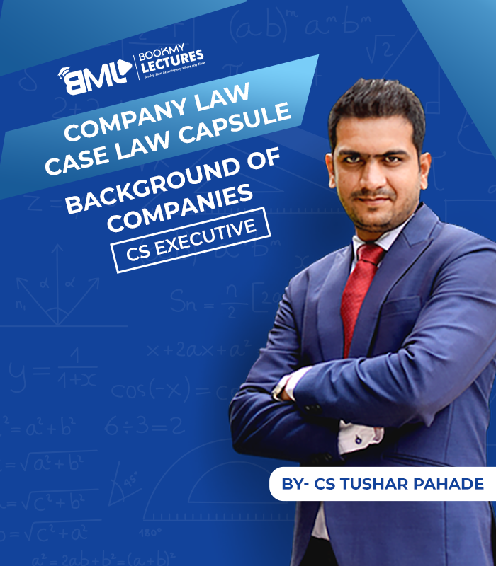 case law capsule by CS Tushar Pahade