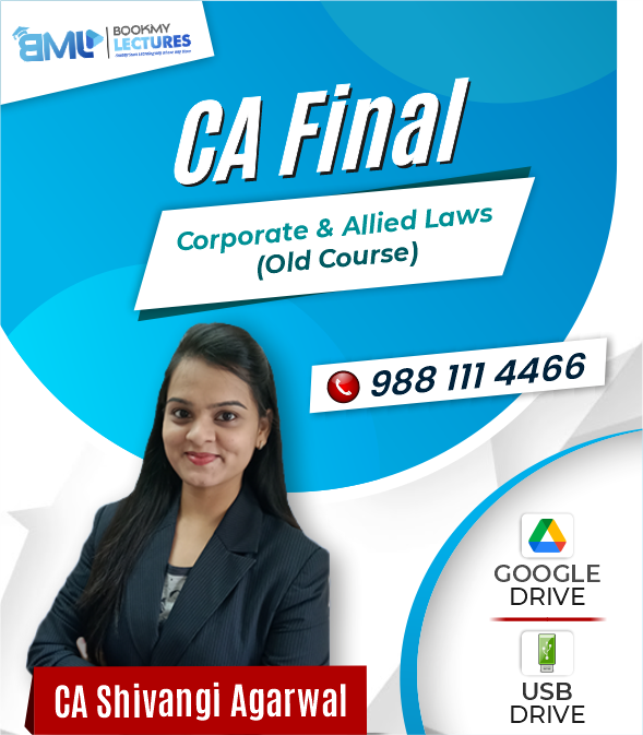 Coporate & Allied Laws CA Final (Old Course)