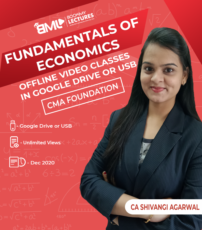 CMA foundation Fundamentals of Economics video classes with unlimited views by CA Shivangi Agarwal