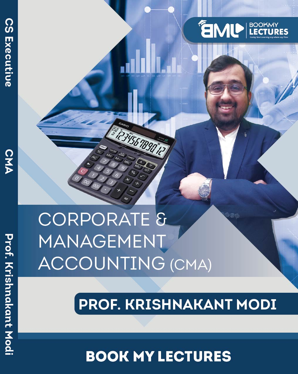 Best CS Executive Classes -CMA - Prof. Krishnakant Modi