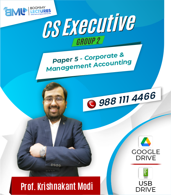 CS Executive Group 2 - Paper 5(Corporate & Management Accounting)