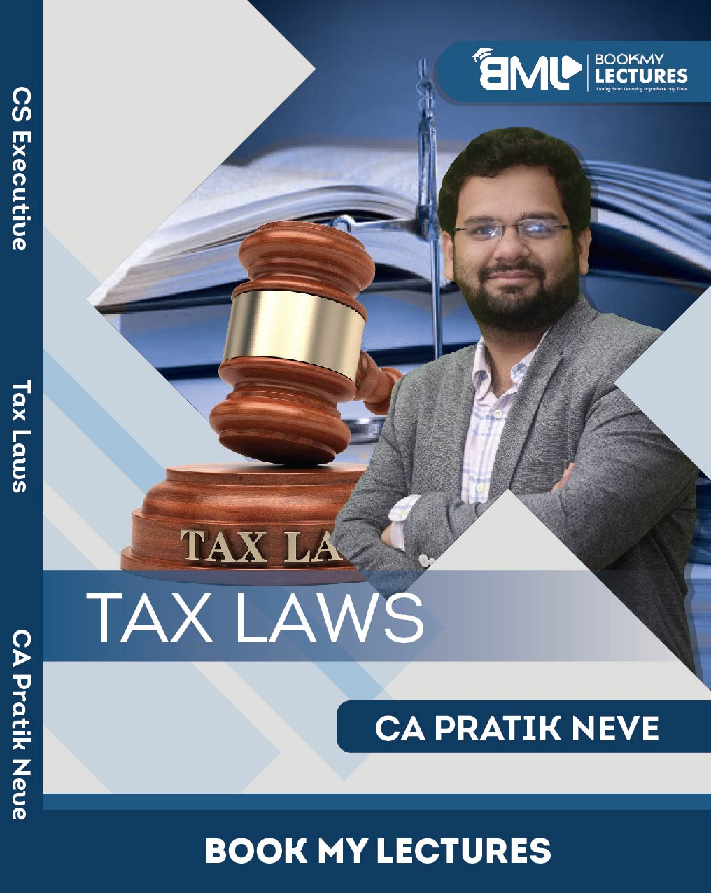 Best CS Executive Classes - Tax Laws - CA Pratik Neve