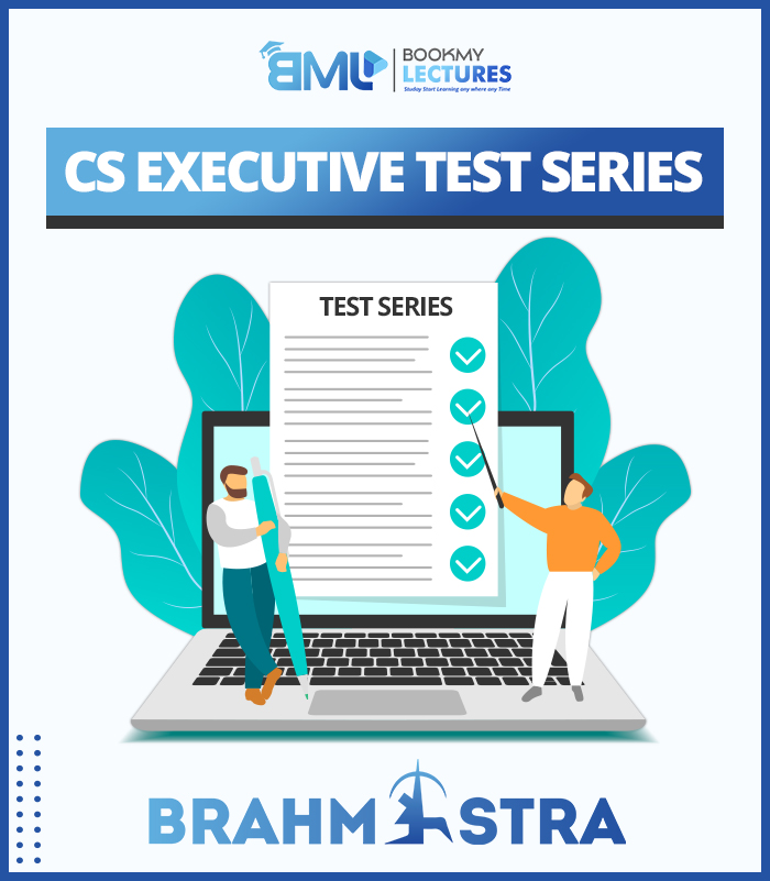 CS Executive Brahmastra Test Series by Book My Lectures