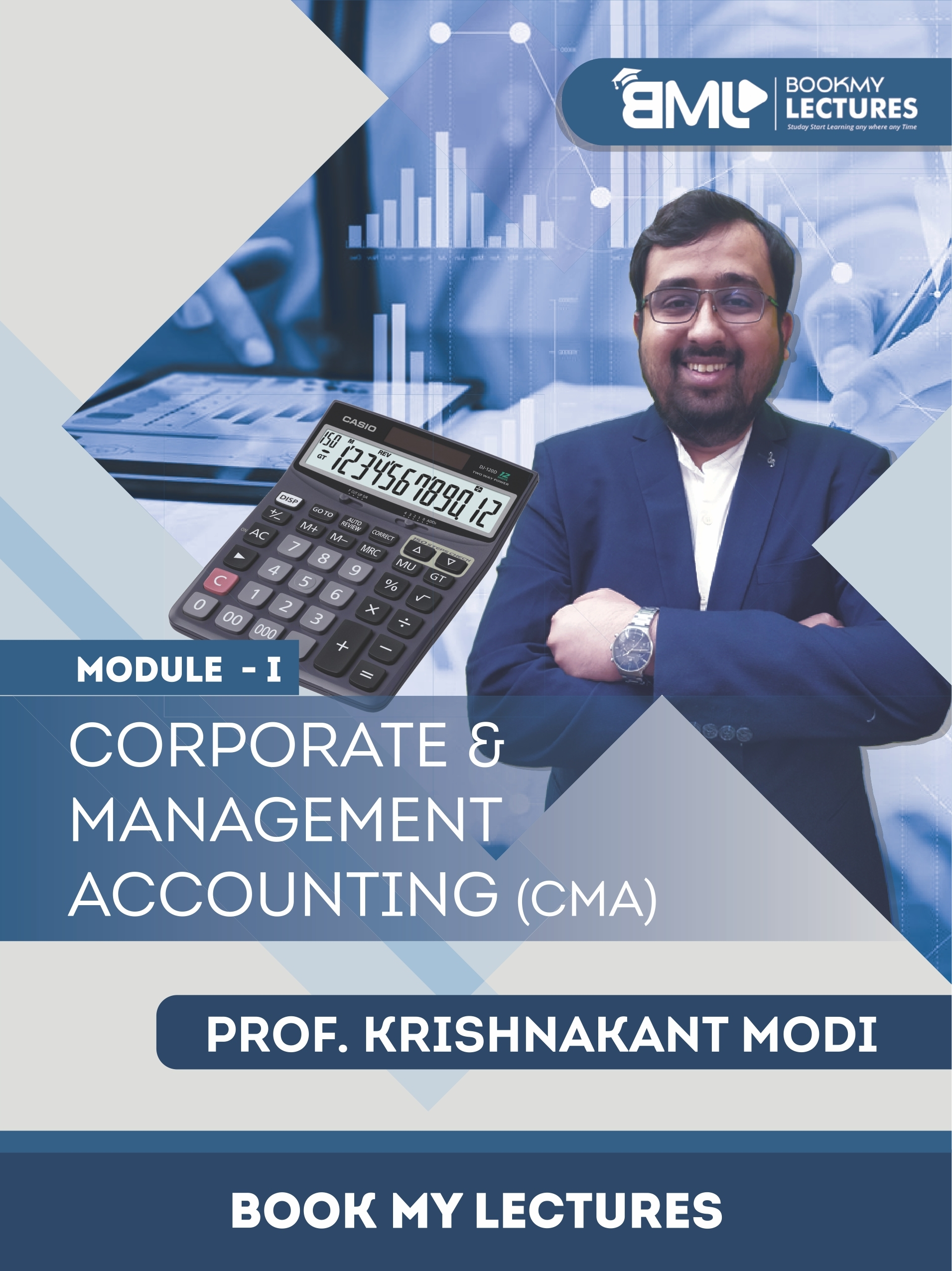 Corporate & Management Accounting (CMA) video lectures by Krishnakant Modi