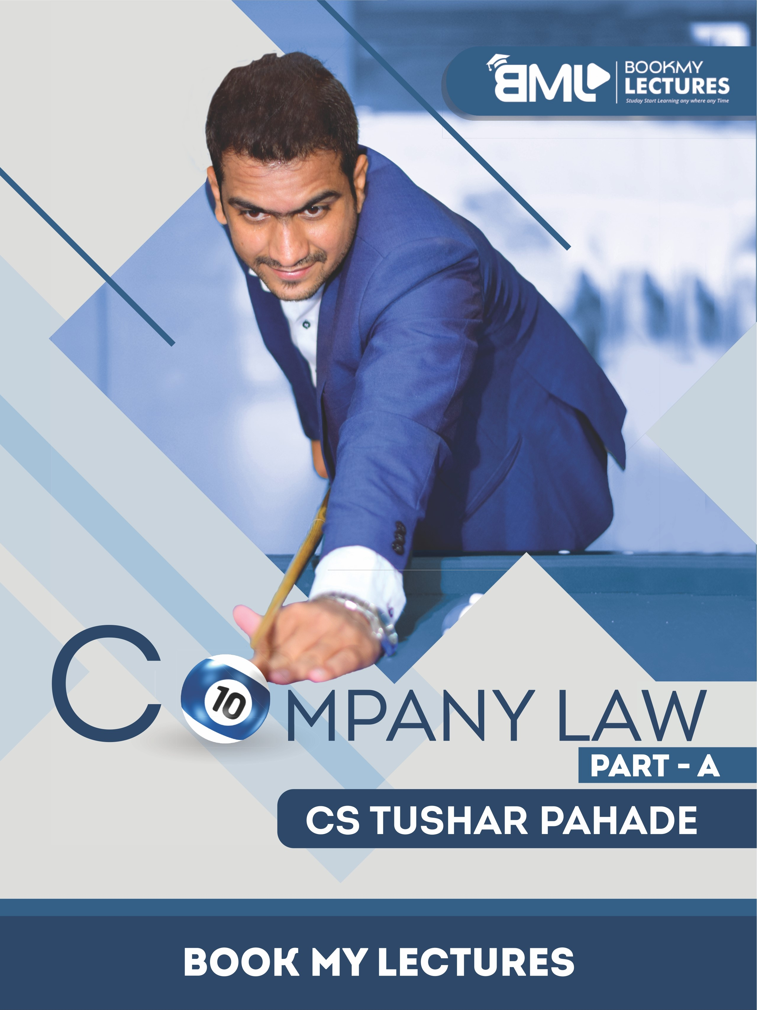 Company Law video lectures by CS Tushar Pahade Classes