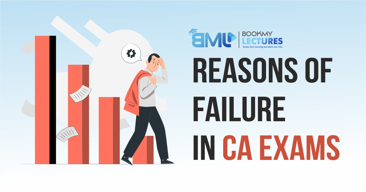 Reasons for Failure in CA Exams